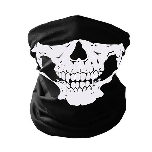 Biker Skeleton Ghost Skull Face Mask Mouth Mask Balaclava Costume Anti Dust Windproof Flu Mouth-muffle Bacteria 2