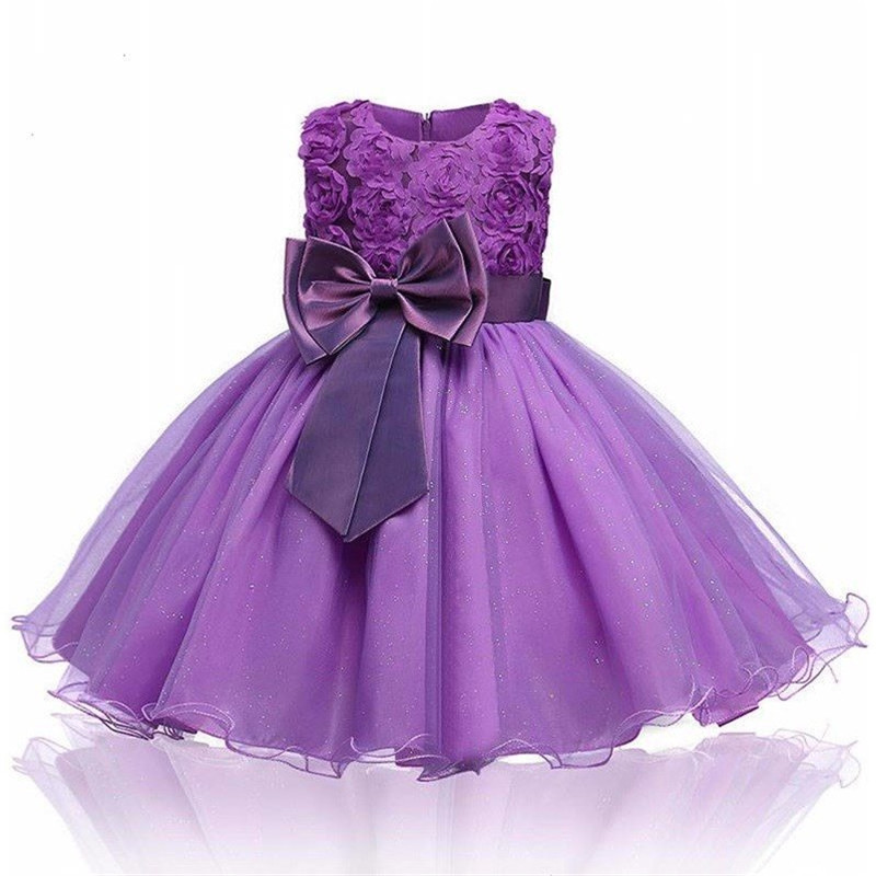 H440a5070fe38433496d672eb798d6aa85 Princess Flower Girl Dress Summer Tutu Wedding Birthday Party Dresses For Girls Children's Costume New Year kids clothes