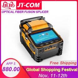 AI-9 automática SM & MM Multi-idioma inteligente FTTH máquina de empalme de fibra óptica de fusión de fibra óptica