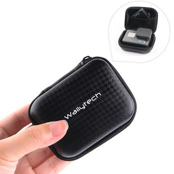 Przenośny Mini Box Xiaoyi torba sportowa wodoodporna obudowa do XiaoYi 4K Gopro Hero 9 8 7 6 5 4 SJCAM Sj4000 EKEN H9 akcesoria tanie i dobre opinie NEELU CN (pochodzenie) Miękka torba