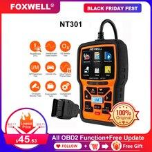 Foxwell NT301 OBD2 Máy Quét Chuyên Nghiệp Đọc Rõ Ràng Mã ODB 2 Automotivo Máy Quét Xe Ô Tô Tự Động Công Cụ Chẩn Đoán Với Đầy Đủ OBD Chức Năng