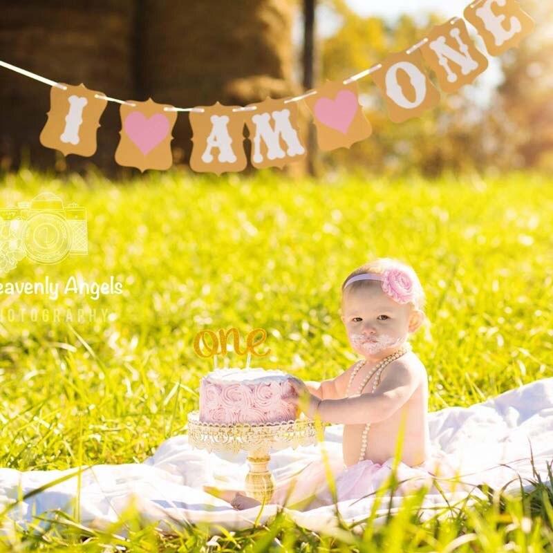Вечерние украшения на первый день рождения для маленьких мальчиков и девочек, подарок на воздушный шар, торт, верхнее кресло, пачка, баннер, ...