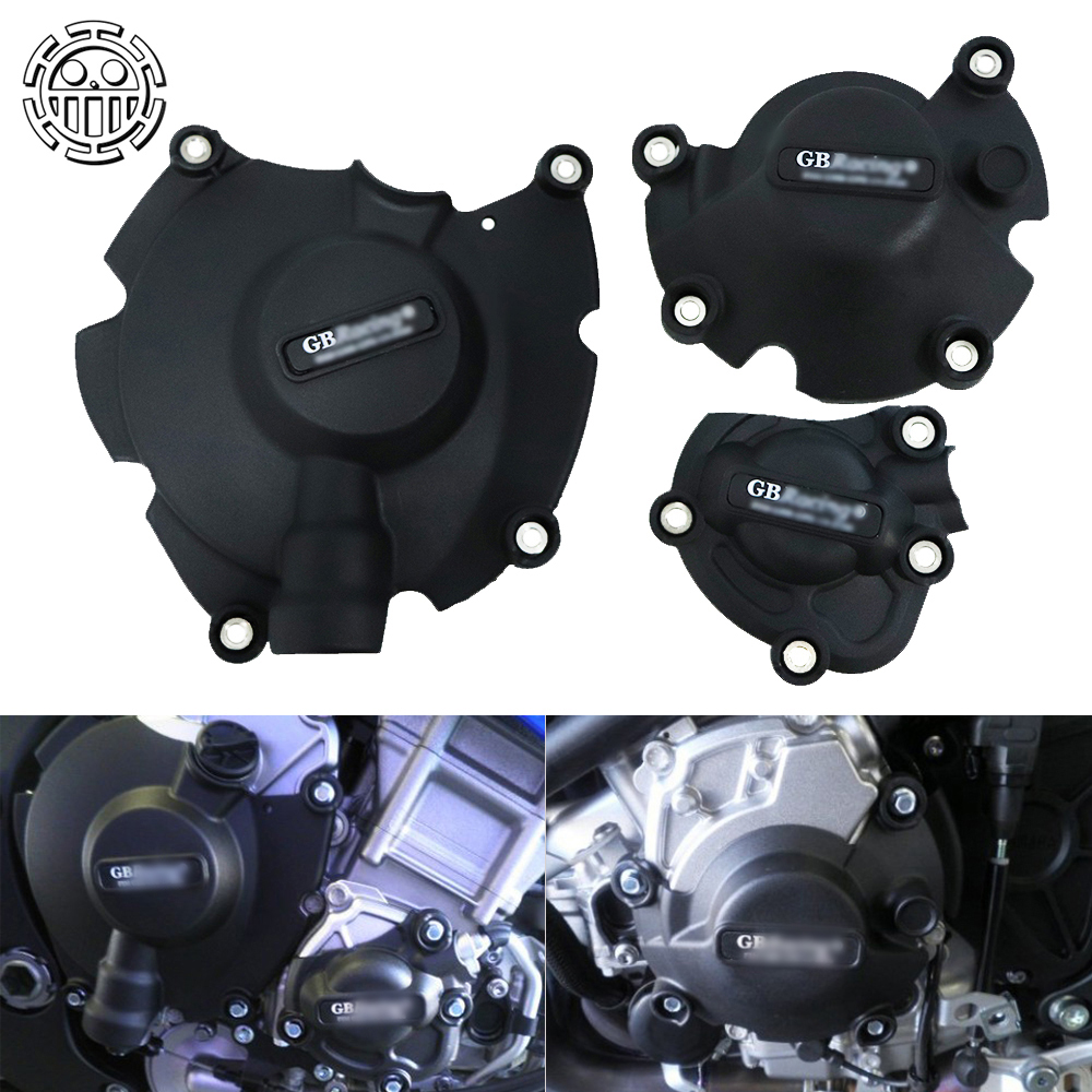 <font><b>2019</b></font> <font><b>R1</b></font> Motorcycles Engine Cover Protection Case for GB Racing Case for YAMAHA YZF1000 YZF R 1 2015 2016 2017 2018 image