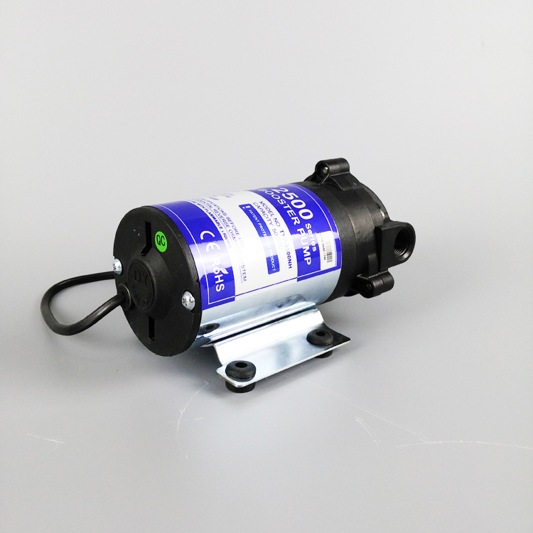 New Arrival DC 24V RO Diaphragm Booster Water Pump 50GPD Automatic Pump 75/100GPD Increase Reverse Osmosis Water System Pressure