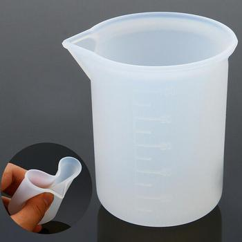 Disposable Silicone Measuring Cup With Smooth Inner Wall For Liquid Measurement