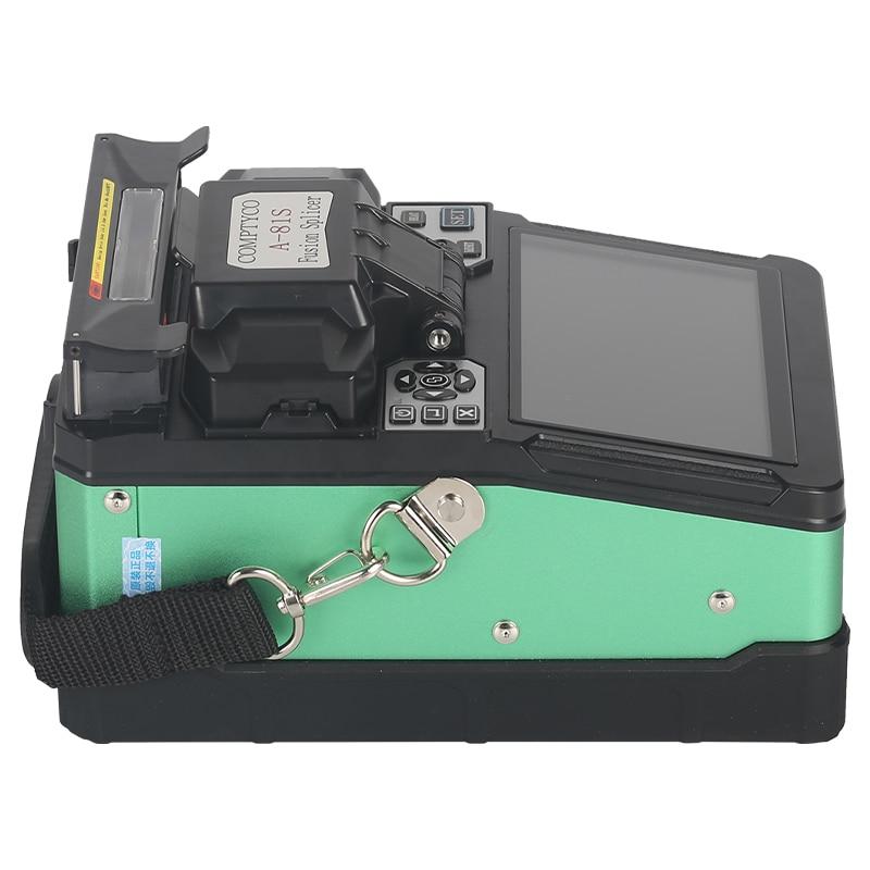 COMPTYCO A-81S зеленый автоматический аппарат для сращивания оптического волокна машина для сращивания оптического волокна