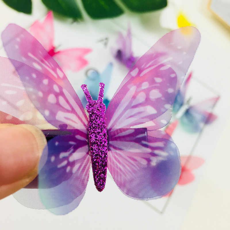 1Pcs Meisjes Kleurrijke Dream Butterfly Cartoon Haarspeld Kinderen Mode Haar Clips Voor Haar Haarspeldjes Hoofdband Haar Accessoires