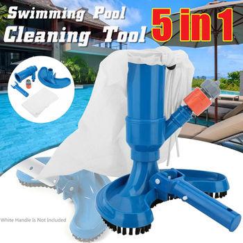 Dom ogród przenośny basen Spa basen próżniowy staw głowica ssąca szczotka do czyszczenia fontanny urządzenia do oczyszczania tanie i dobre opinie CN (pochodzenie)