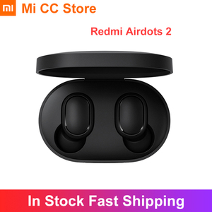 Беспроводные наушники Xiaomi Redmi Airdots 2, TWS наушники с голосовым управлением, Bluetooth 5,0, игровая гарнитура с шумоподавлением для Redmi 9A 9C