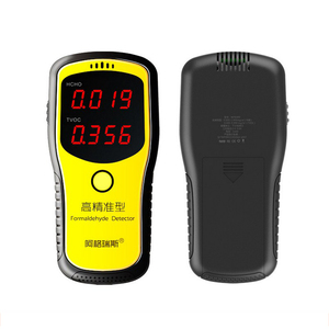Handle Air Quality Detector Formaldehyde Detector Professional Laser Tester English Menu Sensor HCHO TVOC Meter Gas Analyzer