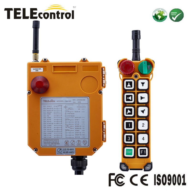 Telecontrol 12 buttons industrial ...