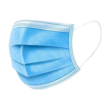 10/20/30/50 dust-proof disposable masks with elastic earrings 3 layers of breathable can block dust air pollution anti flu