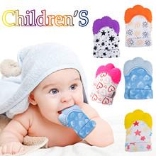 3 # rękawiczki dziecięce rękawiczki dziecięce rękawiczki z gryzaczkiem rękawiczki dziecięce silikonowe rękawiczki z gryzaczkiem w kształcie kreskówek śliczne rękawiczki miękkie gryzaki tanie tanio CN (pochodzenie) Urodzenia ~ 24 Miesięcy Zwierzęta i Natura