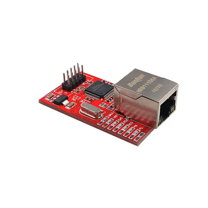OULLX Mini W5100 LAN Ethernet Shield Network Board Module R3 W5100 3.3V Compatible For Ethernet UNO Mega 2560 5