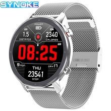 цена на Men Smart Watch Sports Bluetooth Calories Monitoring Waterproof Pedometer Heart Rate Blood Pressure Monitoring Women Smart Watch