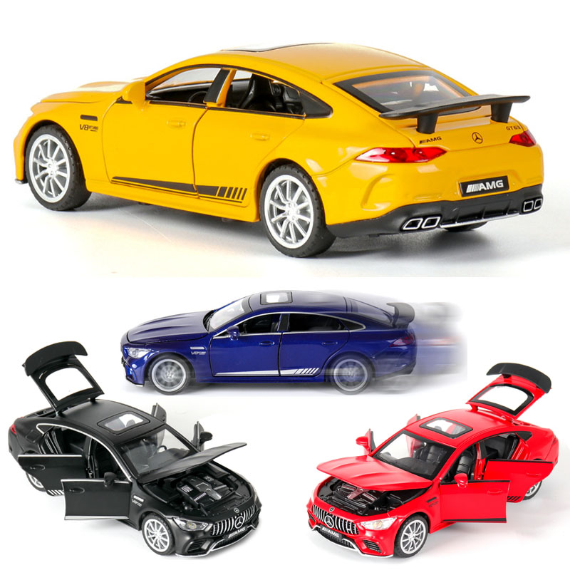 1:32  Mercedes GT63 AMG Car Model Alloy Car Die Cast Toy Car Model Pull Back Children's Toy Collectibles Free Shipping