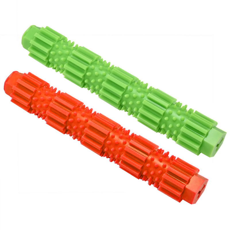 Pet Dog Chew Rubber Toys Cleaning Teeth Small Pet Chew Toy for Cat Puppy Pet Baby