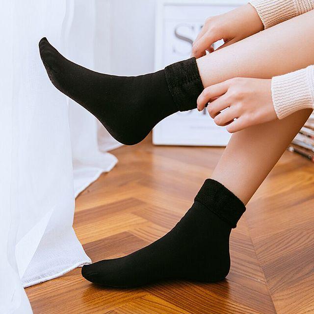 Женские/мужские теплые зимние теплые носки, 8 пар/лот 3