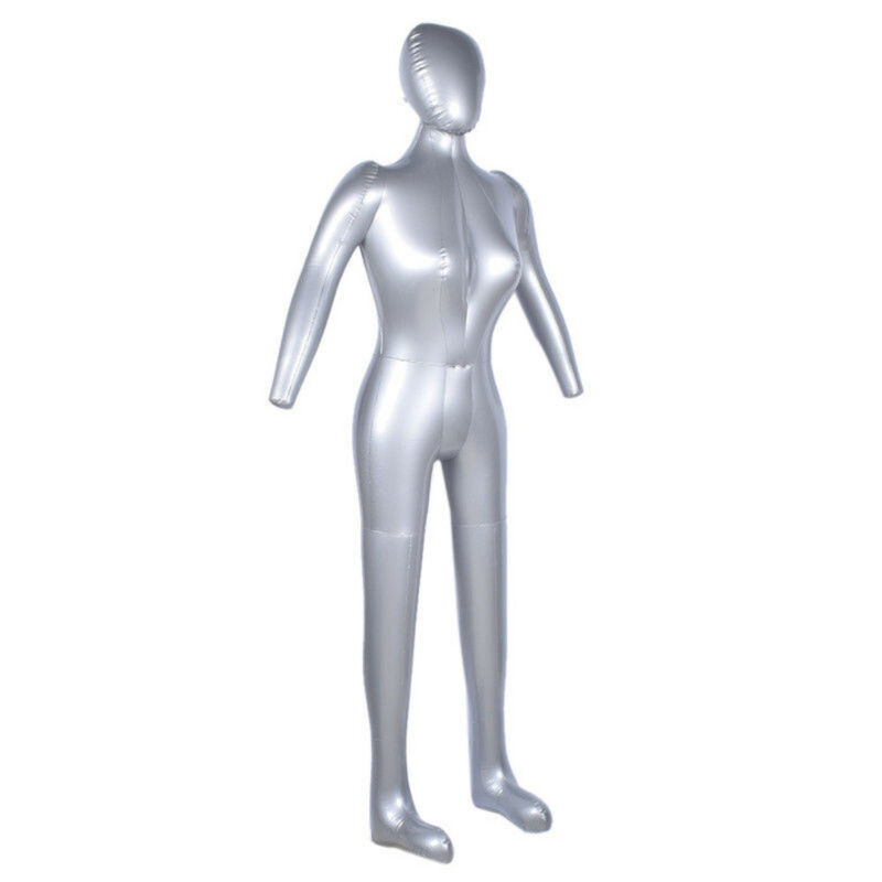 Man/'s Full Body Model Inflatable Mannequin Male Dummy Torso Tailor Clothes Model