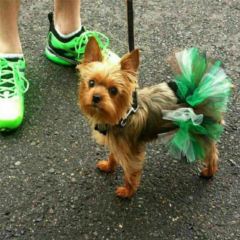 Disfraz para perro pequeño, tutú de princesa, mascota, cachorro, gato, falda, vestido, faldas de malla de Bulldog Francés, Cosplay