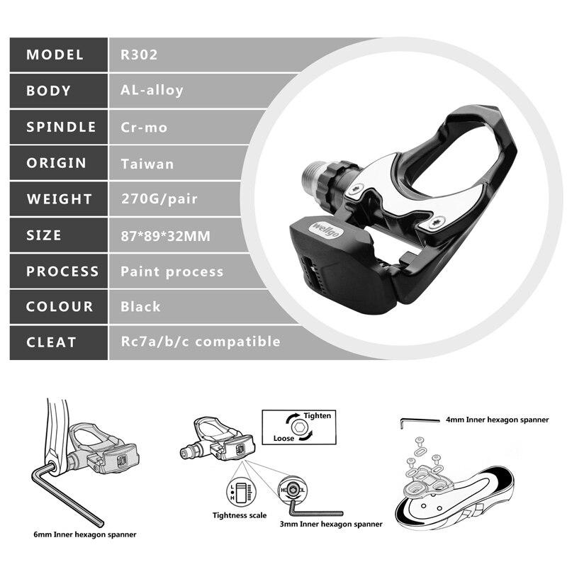 Wellgo-r302-ultraleve-bicicleta-de-estrada-mtb-pedais-de-bicicleta-all-alloy-cr-mo-rolamento-de