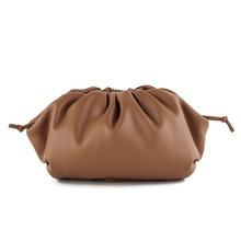 2020 popular hand bag cloud bag solid le