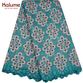 Hot Sale African Cotton Swiss Voile Lace Fabric High Quality With Stones Swiss Voile Lace In Switzerland African Lace Fabric 983 2019 high quality african french lace fabric blue swiss voile lace in switzerland with stones lace fabric