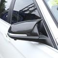 Боковые зеркала заднего вида из настоящего углеродного волокна  Накладка для BMW F20 F22 F30 F31 GT F34 F32 F33 X1 E84 LHD  запасные части