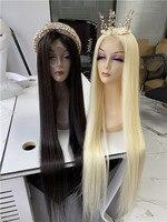 Natural Color 40 and 45 Full Lace Wig long hair Virgin Hair