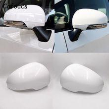 Cafoucs dla Toyota Reiz Prius 2010 2011 2012 lusterko wsteczne samochodu dekoracyjne pokrycie akcesoria