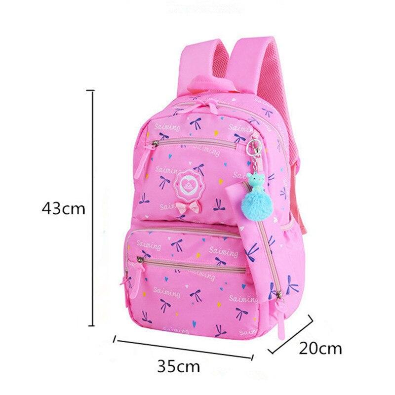 Children School Bags Teenagers Girls Printing Rucksack School Backpacks 3pcs set Mochilas Kids Travel Backpack Cute Shoulder Bag in School Bags from Luggage Bags