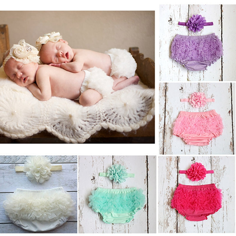 Newborn Baby Girl Shorts  Child Cotton Bloomers Diaper Cover Shorts Toddler Girls Clothes Summer