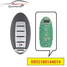 Qwmend kr5s180144014 5 кнопок Автомобильный Дистанционный ключ