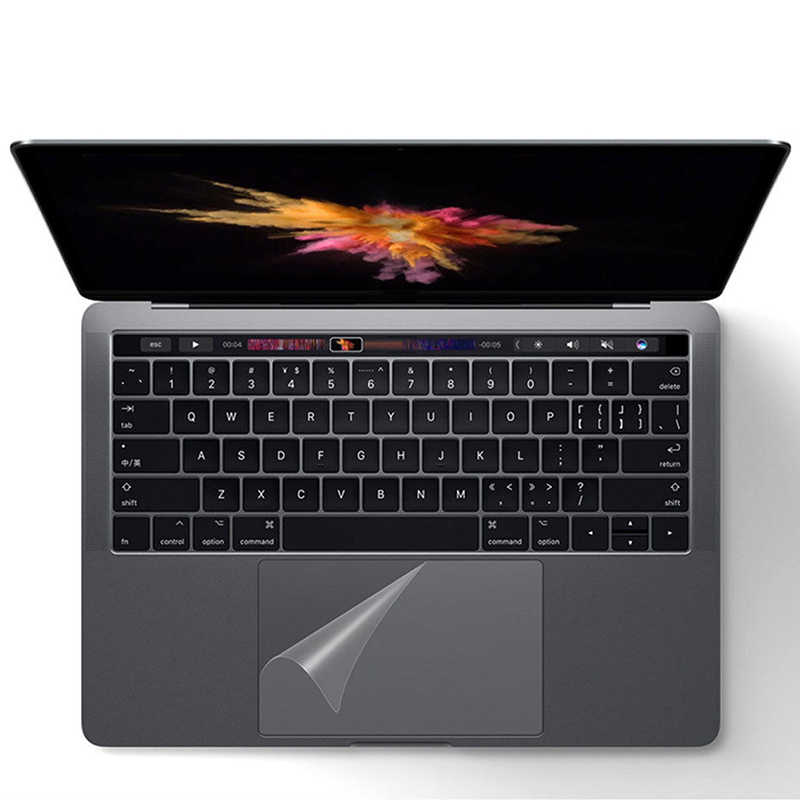 1 pièces de protection pour Apple Macbook Air 13 Pro 13.3 15 Retina Touch Bar 12 pavé tactile ordinateur portable clair Touchpad Film de protection autocollant