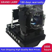 100% NOUVEAU 20 01501 20 lampe De Projecteur pour Tableau Intelligent 480i5 880i5 885i5 SB880 SLR40Wi UF75 UF75W P VIP 230/0.8 E20.8 avec boîtier