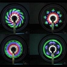Горячее предложение HG-Bicycle 64 светодиодный светильник для верховой езды цветочный барабан светильник s спицы Декоративные Колеса фары для езды ночью предупреждающие огни Аксессуары для велосипеда