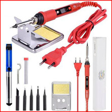 Digital Display Adjustable Temperature Electric Soldering Iron Suit 80W Soldering Pen Soldering Gun Combination