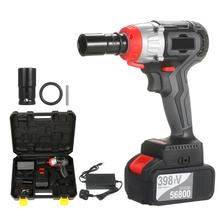 Impact-Wrench Cordless 980nm Torque Brushless-Motor Multifunction with Quick-Chuck 2x4.0a