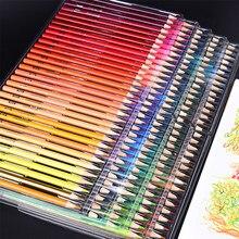 Brutfuner 120/160 cores de madeira óleo colorido lápis conjunto artista pintura para desenho esboço escola presentes arte supplie dropshipping