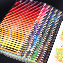 Brutfuner 120/160 Colors Wood Oil Colored Pencils Set Artist Painting For Drawing Sketch School Gifts Art Supplie Dropshipping