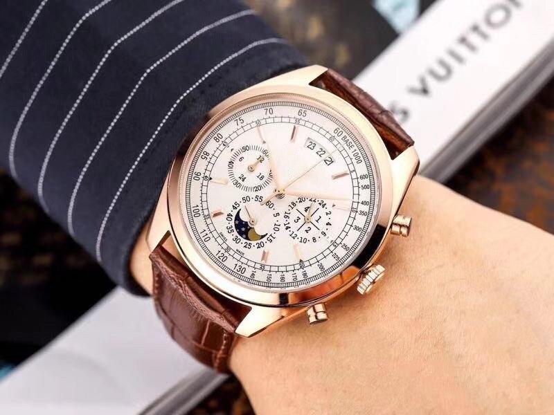 WG1016   Mens Watches Top Brand Runway Luxury European Design  Quartz Wristwatches | Fotoflaco.net