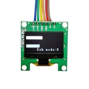 Image 5 - Мини анализатор спектра музыки OLED, 0,96 дюйма, MP3, ПК, усилитель, индикатор уровня звука, анализатор ритма музыки, измеритель УФ