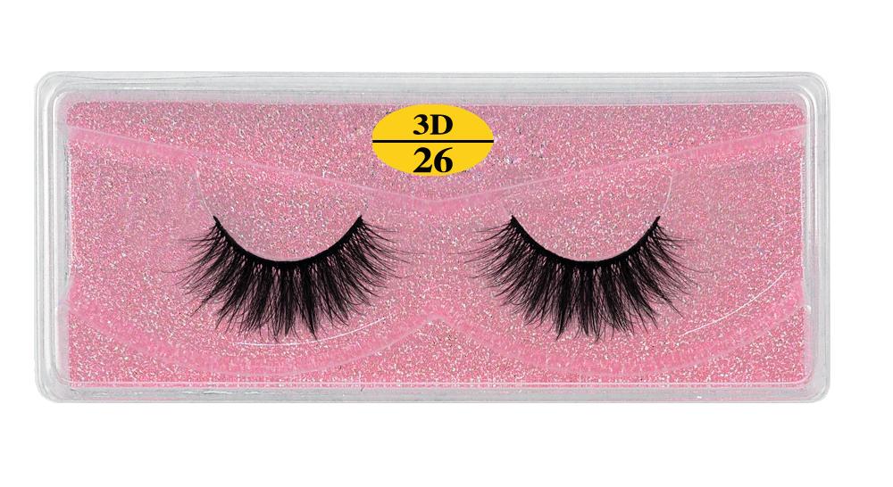 H440f6d99d8d0476abbbaca8aea1db3d7Q - MB Eyelashes Wholesale 40/50/100/200pcs 6D Mink Lashes Natural False Eyelashes Long Set faux cils Bulk Makeup wholesale lashes