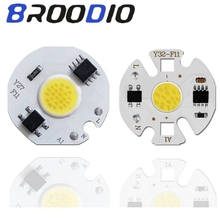 LED COB Chip Lamp 3W 5W 7W 9W 220V LED Bulb Input Smart IC No Driver High Lumens For DIY LED Flood Light Downlight Spotlight