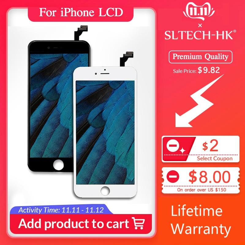 Grade AAA + + + pour iPhone 6 6S Plus LCD avec Force 3D écran tactile numériseur assemblée pour iPhone 5S affichage pas de Pixel mort