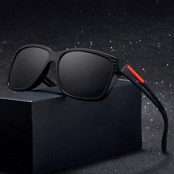 Brand Design Classic Sunglasses Retro Square Goggle Men Driving Sun Glasses Male UV400 Shades Eyewear Oculos de sol men s sunglasses fashion oversized sunglasses men brand designer goggle sun glasses female style oculos de sol uv400 o2