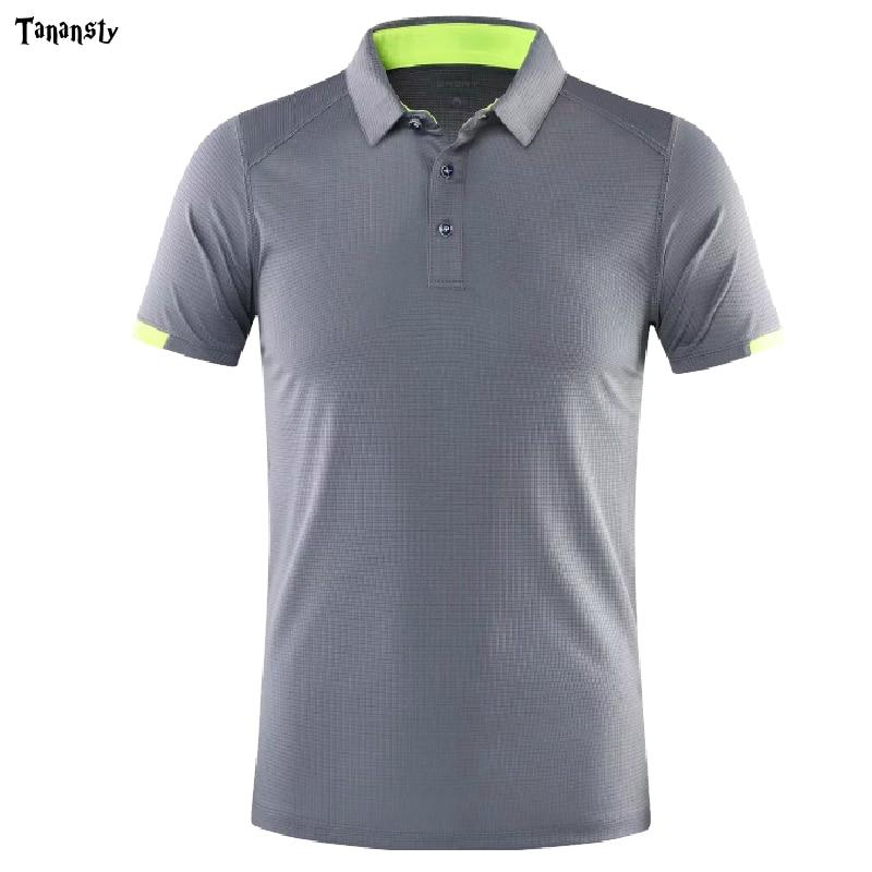 2020 New Men Golf  Shirts Outdoor Trainning Sportswear Short Sleeve Women Golf Polo Shirt Badminton Running Soccer Jerseys Shirt