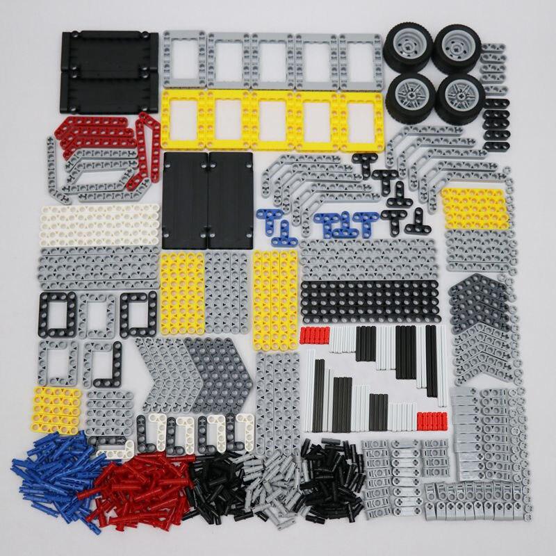 582pcs MOC Brick Technic Beam Axle Connector Pin Flat Panel Frame Car Truck Technic Building Blocks Pieces Technical Toys|Blocks| - AliExpress