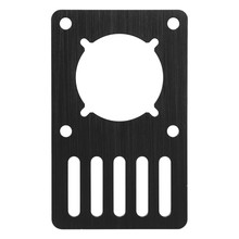 3D Printer Part Openbuilds Nema23 Motor Mounting Plate 96.5Mmx60Mmx3Mm Fixed Plate Aluminum Plate Bracket Ox Cnc V-Slot 1Pcs(China)