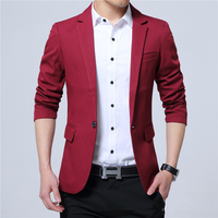 Super cheap ! 2019 new arrival Men's Casual Slim Stylish fit One Button Suit Blazer Coat Jackets